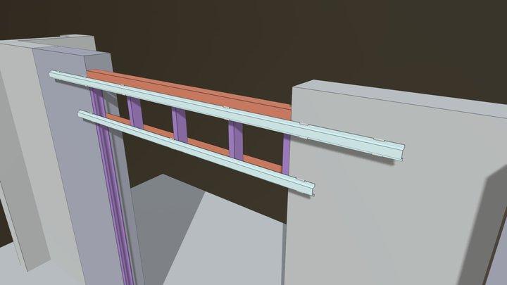 Control WIndow 01 3D Model