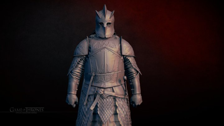 The Mountain 3D Model