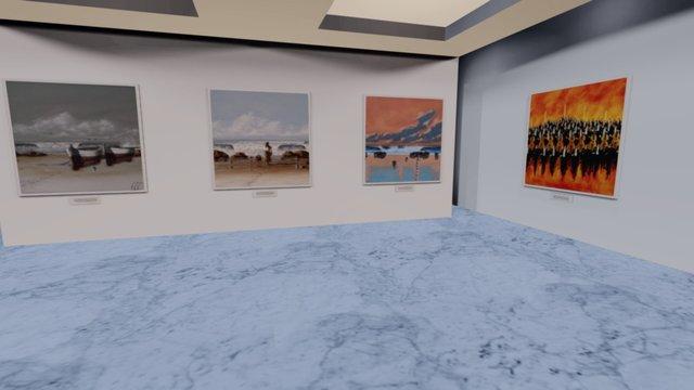 Instamuseum for @raggiolorenzo 3D Model