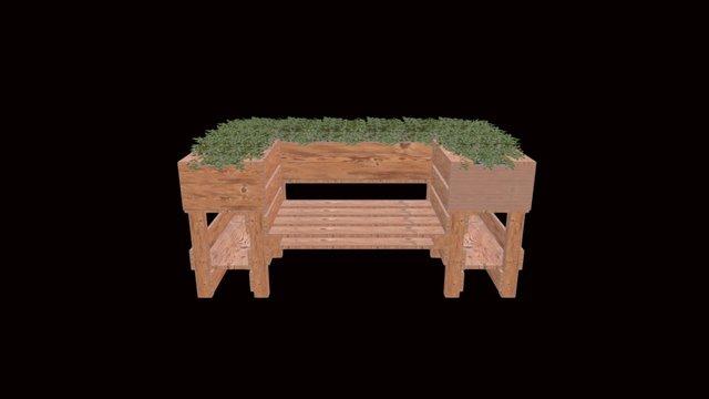KraeuterGartenBank 3D Model