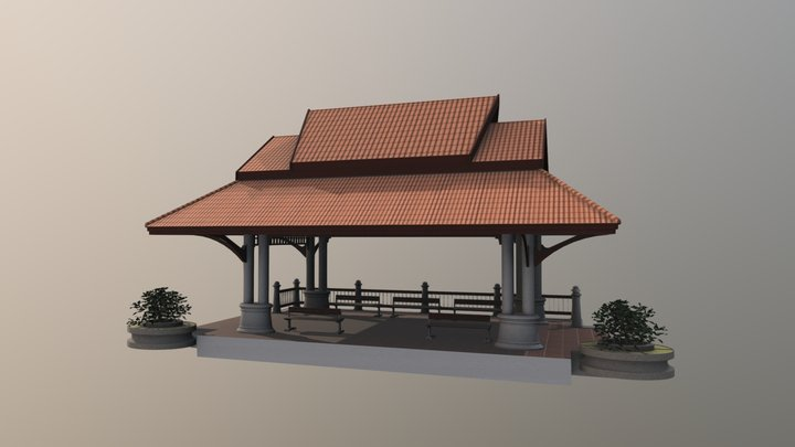 Siam Car Station 3D Model