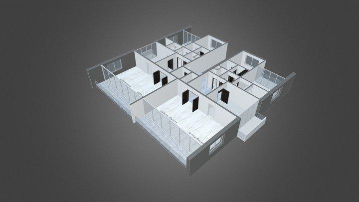 The Box Floor Plan 3D Model