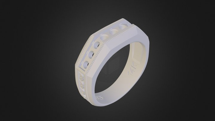 Gents Channel Band 3D Model