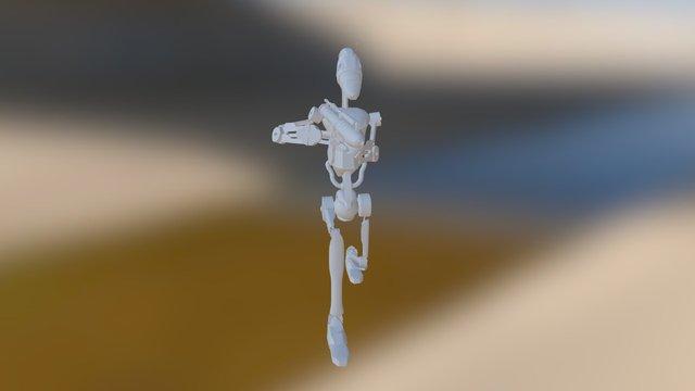 B1battledroid 3D Model