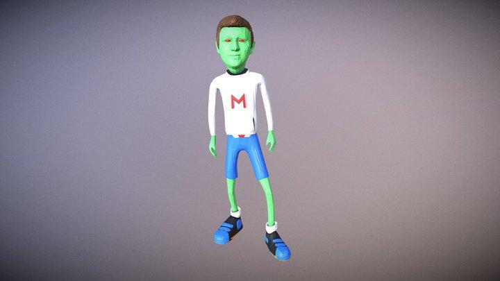 Avatar3D - Martian Miky 3D Model