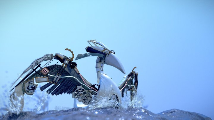 Bionic Bird 3D Model