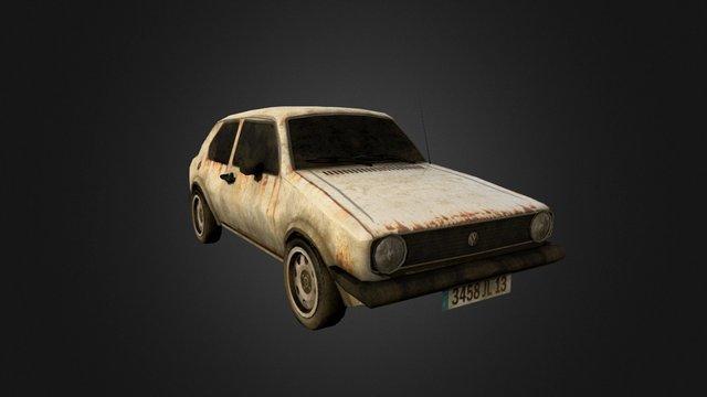 Vehicle_Golf 3D Model