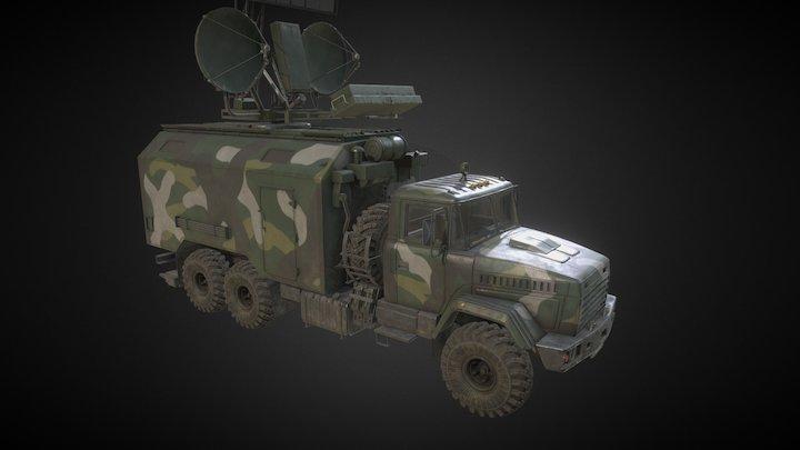 Kraz_Kolchuga 3D Model