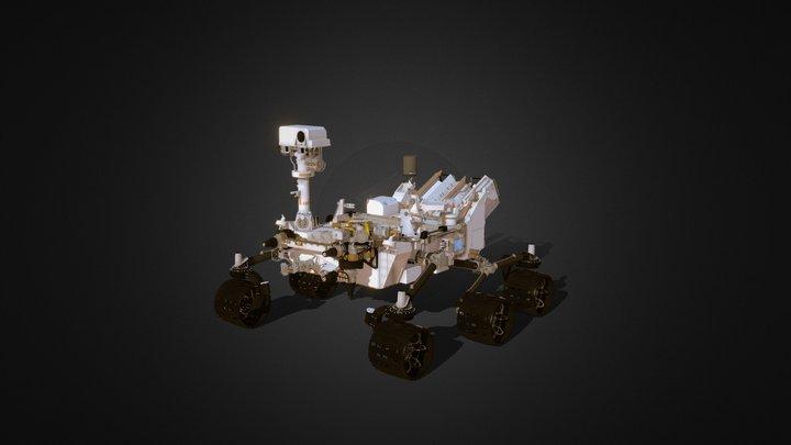 NASA Curiosity Rover MSL 3D Model