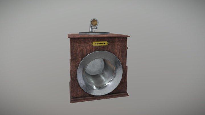 Pathephone (WIP) 3D Model