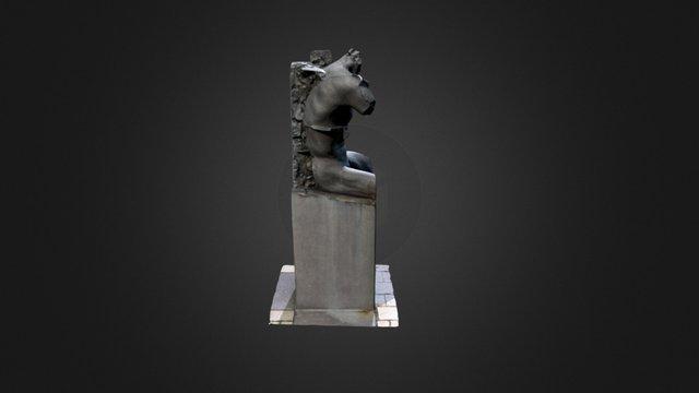 Half Body 3D Model