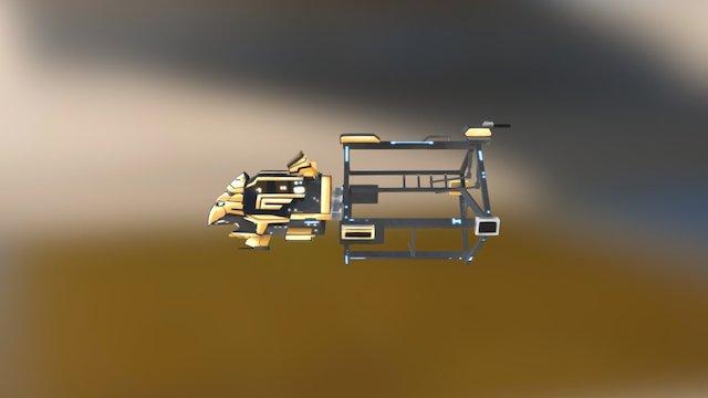 U063 3D Model