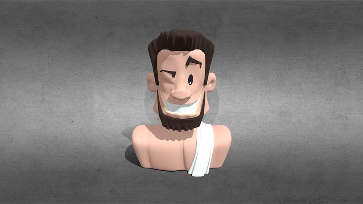 Zeus 3-D figurine / buste 3D Model