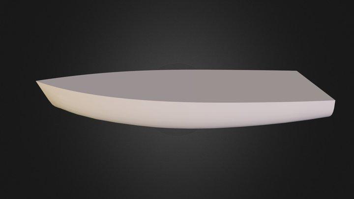 lodka 3D Model