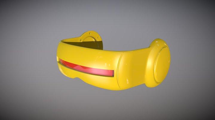 X-Men Cyclops Visor 3D Model