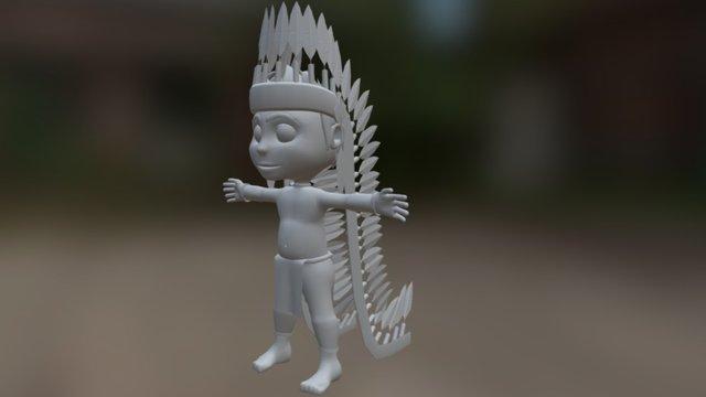 Indio 3D Model