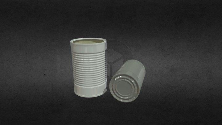 Tin_Can 3D Model