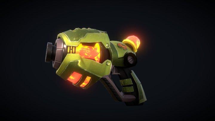 Lava Gun 3D Model