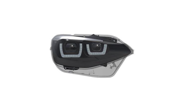 LEDriving Headlights for BMW 1er 3D Model