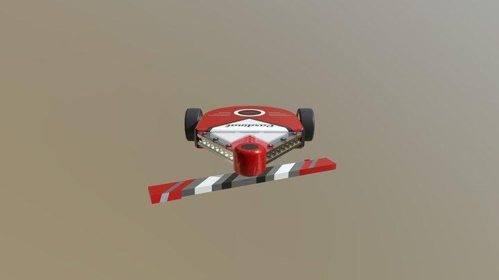 Cardinal 3D Model