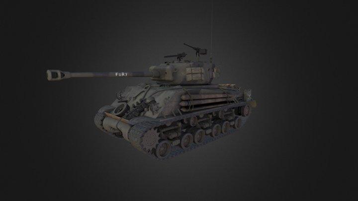 M4 Sherman 3D Model