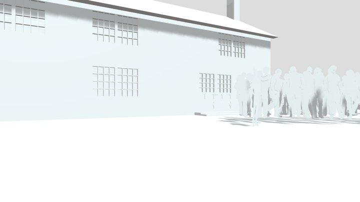 Pub Scene Model 3D Model