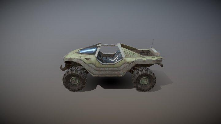 Halo Warthog 3D Model