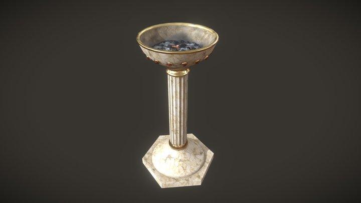 Column Torch 3D Model