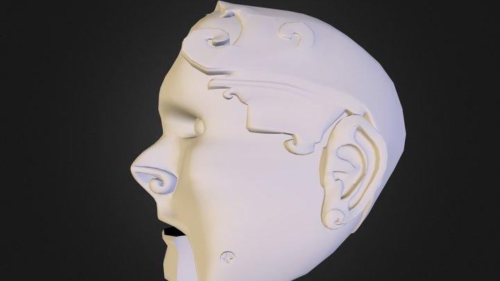 Marionette Head (Erik) 3D Model
