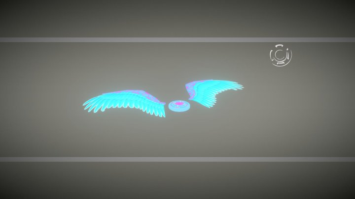 Wing (Animated) 3D Model