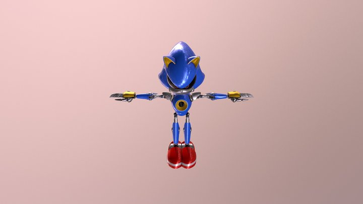 Sonic Forces - Metal Sonic 3D Model