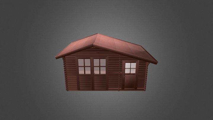 Casa De Madera 3D Model