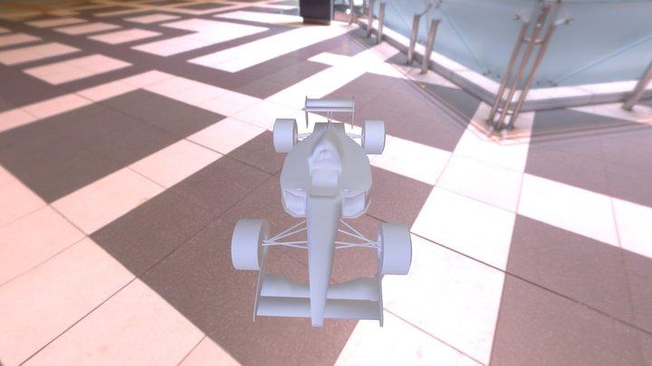 F1 Senna Marllboro 3D Model