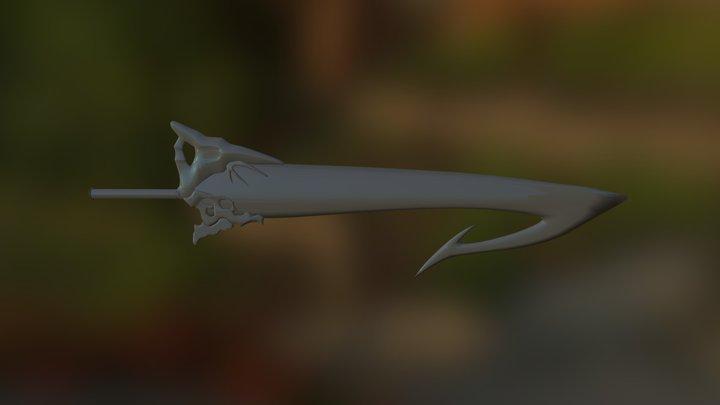 Tidus Sword 3D Model
