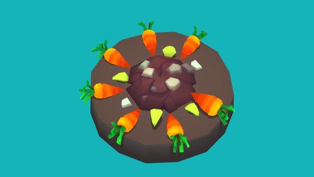 Carrot Counter 3D Model