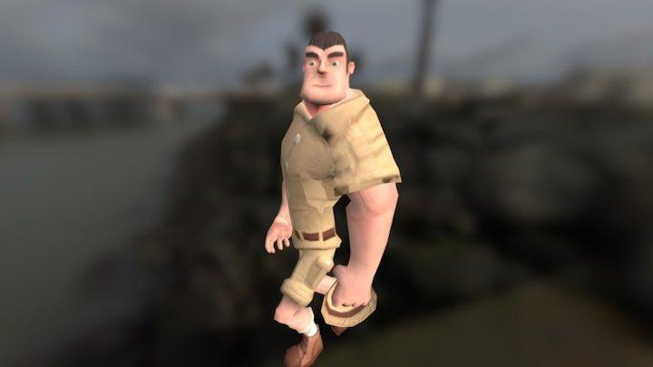 Explorer2 3D Model