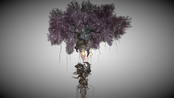 Mage Giant Tree 3D Model