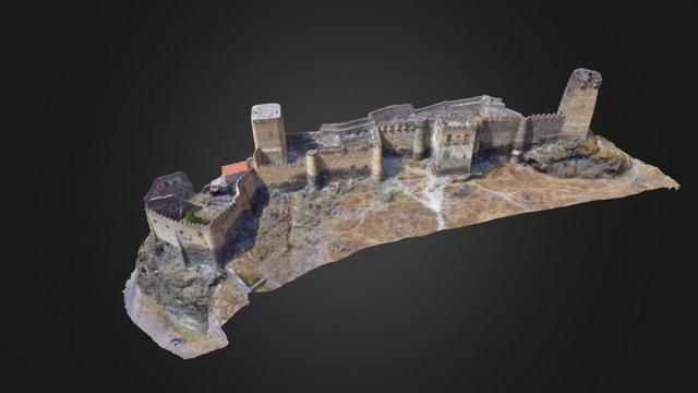 Château de Khertvisi (Géorgie) 3D Model