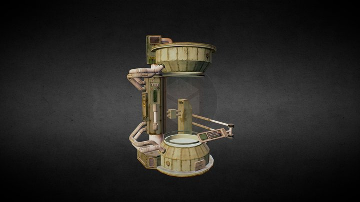 Cryotube 3D Model