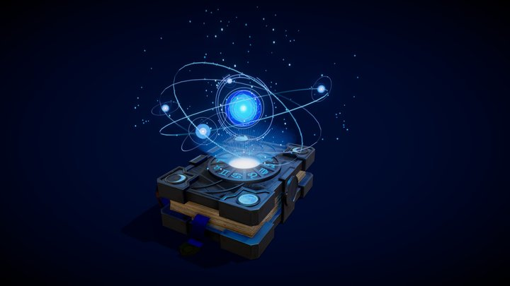 Astrological tome 3D Model