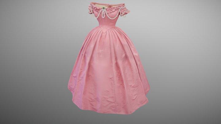 Josephine's Dress01 3D Model