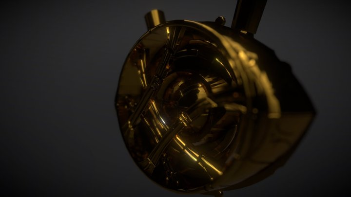 Eye of Agamotto 3D Model