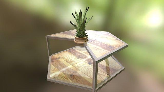 Marias Tisch Variante 1 V1 3D Model