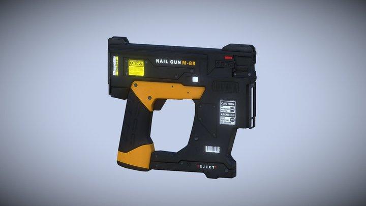 Nail Gun AAA 3D Model