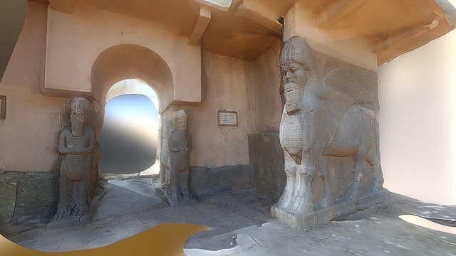 Entrance Nimrud 3D Model