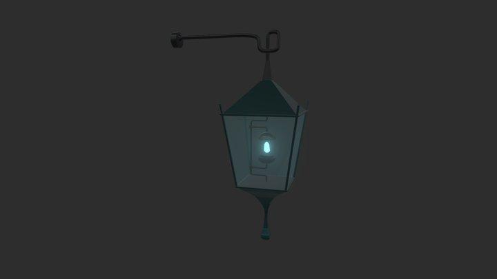 Wall Lantern 3D Model