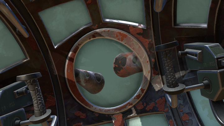 Turret from Psychonauts - ITROR 3D Model