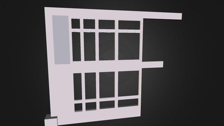 fenetre facade molière 3D Model