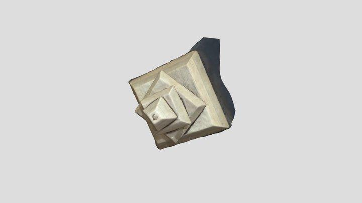 Trofeo arbol piramide 3D Model