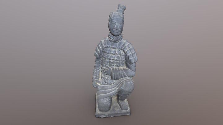 Archer of the Terracotta Army (Replica) 3D Model